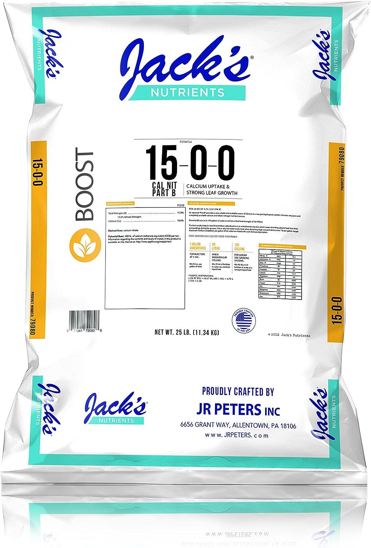 Jack's 15-0-0 Calcium Nitrate 25 lb. Fertilizer - Part B (1)