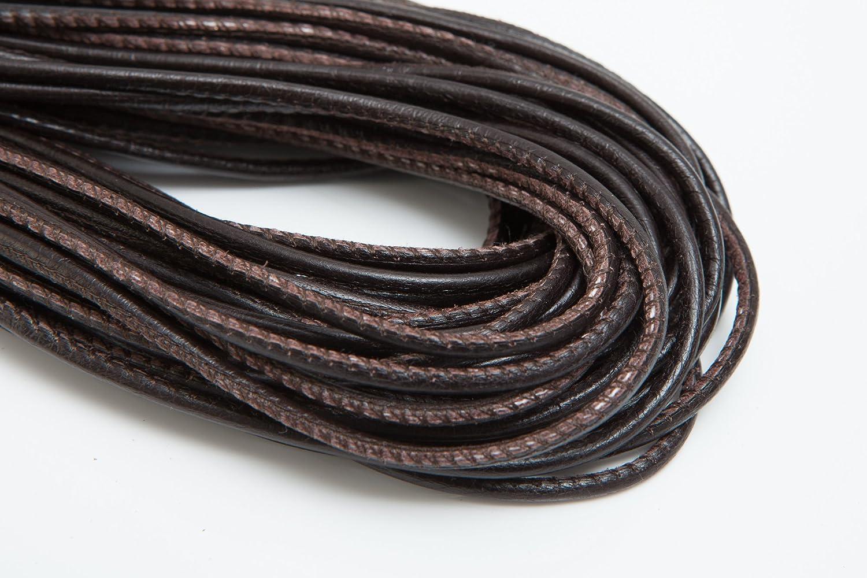 marrone Marrone Lunghezza: a scelta 1 metro Laccio in pelle ges/ä UMT 2,5/mm