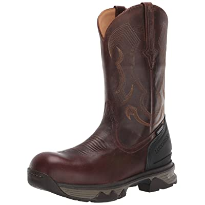 """Lucchese Bootmaker Men's Performance Molded 12"""" Pull On: Nano Composite Toe & Waterproof Construction Boot 