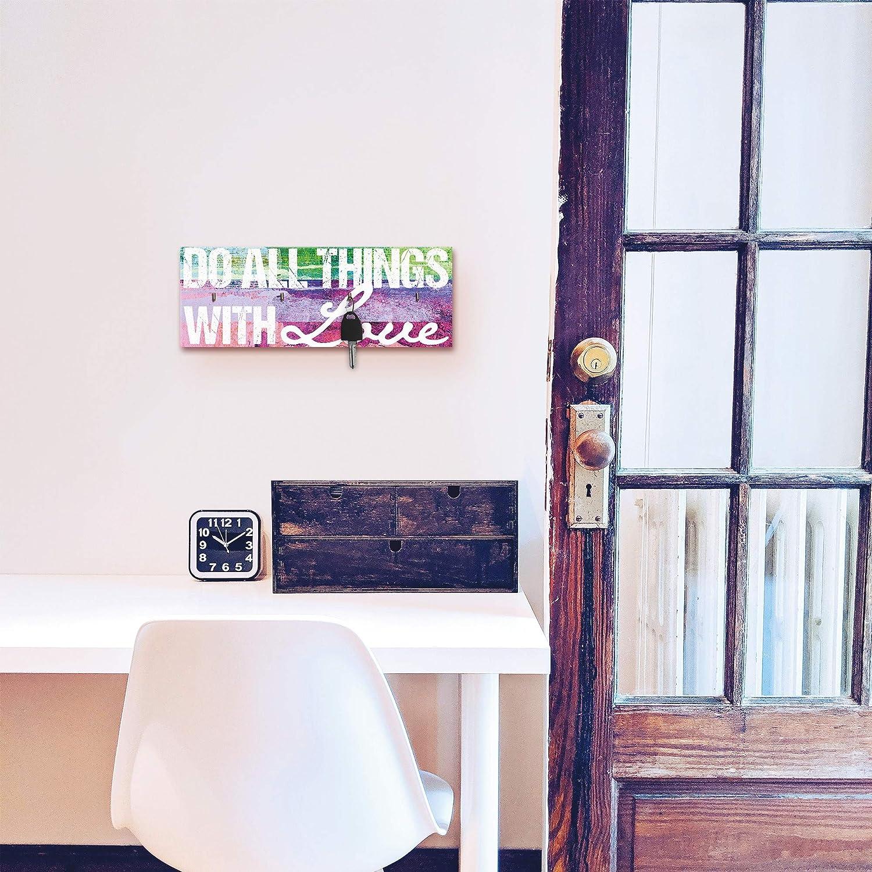 W x L Artland Schl/üsselbrett Home 14,8/x 40/cm