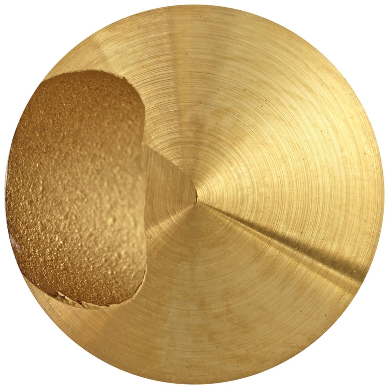 Round Shank KEO 53510 Cobalt Steel Single-End Countersink TiN Coated 1//4 Shank Diameter 82 Degree Point Angle 5//16 Body Diameter