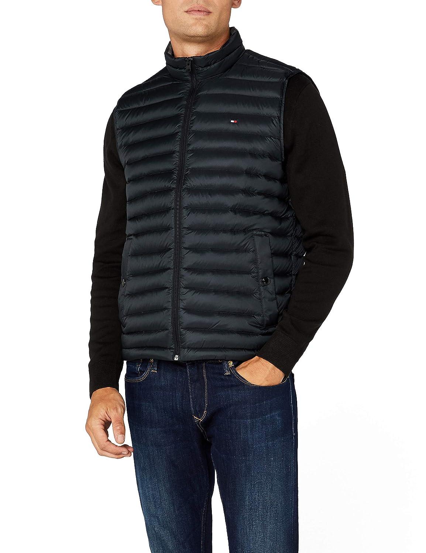 TALLA XL. Tommy Hilfiger LW Packable Down Vest Chaleco para Hombre