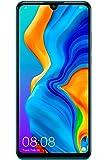 هاتف هواوي بي 30 لايت بشريحتي اتصال - 128 جيجا تخزين داخلي. 6 جيجا ذاكرة رام. الجيل الرابع ال تي اي. لون ازرق بيكوك - Mar-Lx1A