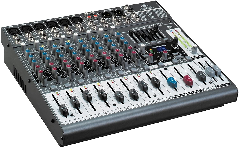 Behringer XENYX 1222 FX mesa de mezclas: Amazon.es: Instrumentos ...