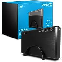 """Vantec NexStar TX 3.5"""" HDD Enclosure 3.5"""" Negro - Disco Duro en Red (3.5"""", SATA, Serial ATA II, Serial ATA III, 8 TB, 3.0 (3.1 Gen 1), USB Tipo B, Hembra)"""