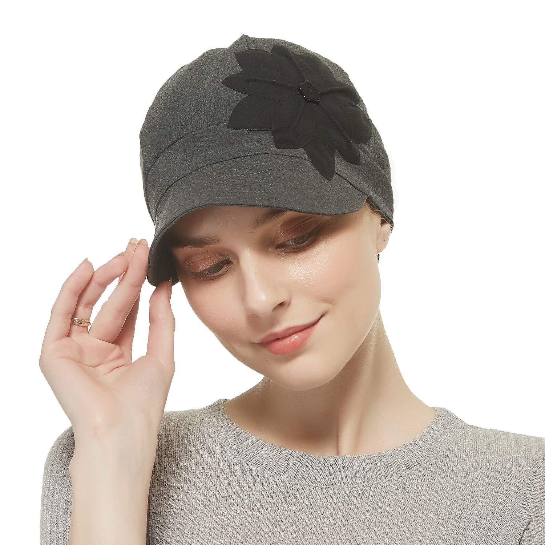Bamboo Fashion Hat (Dark Grey)