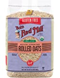 Bob's Red Mill Gluten Free Organic Quick Cooking Oats, 32 Ounce