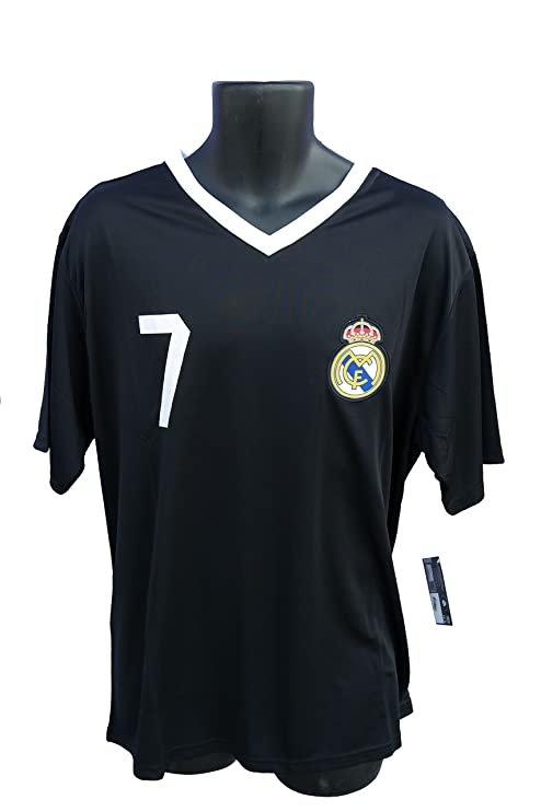 Real Madrid Soccer Officially Licensed Adult Soccer Training Performance  Poly Jersey Rhinox-004 Large 42fc09821