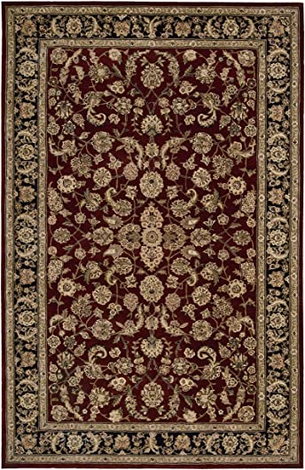 Nourison Traditional 2002 Area Rug 2'6″ X 4'3″/Burgundy/Rectangle