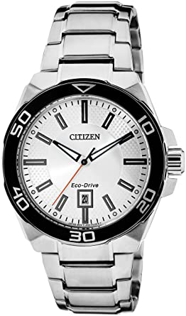 0d2db8091 Buy Citizen Eco-Drive Analog Silver Dial Men's Watch AW1190-53A ...