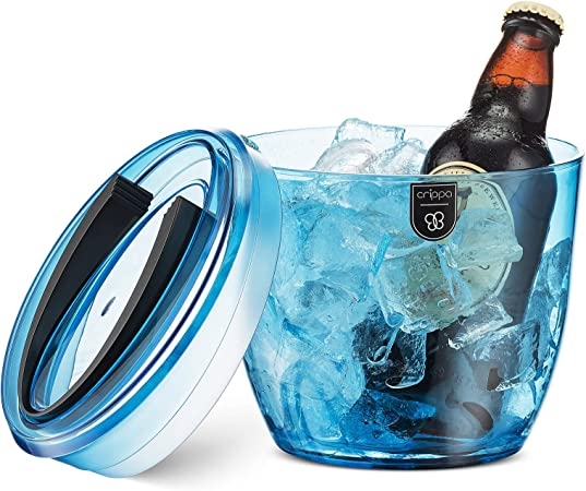 36x24 Ice Cold Beer Basic Teal Premium Acrylic Sign CGSignLab 2463197/_5absw/_36x24/_None