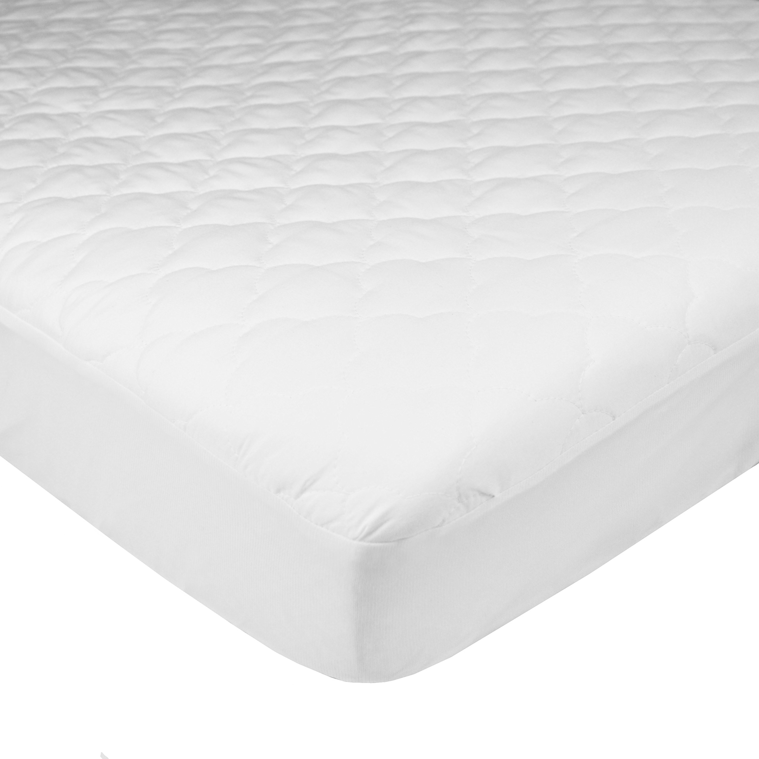 American Baby Company Ultra Soft Waterproof Fitted Quilted Mattress Pad Cover, Pack N Play Playard - Vinyl Free