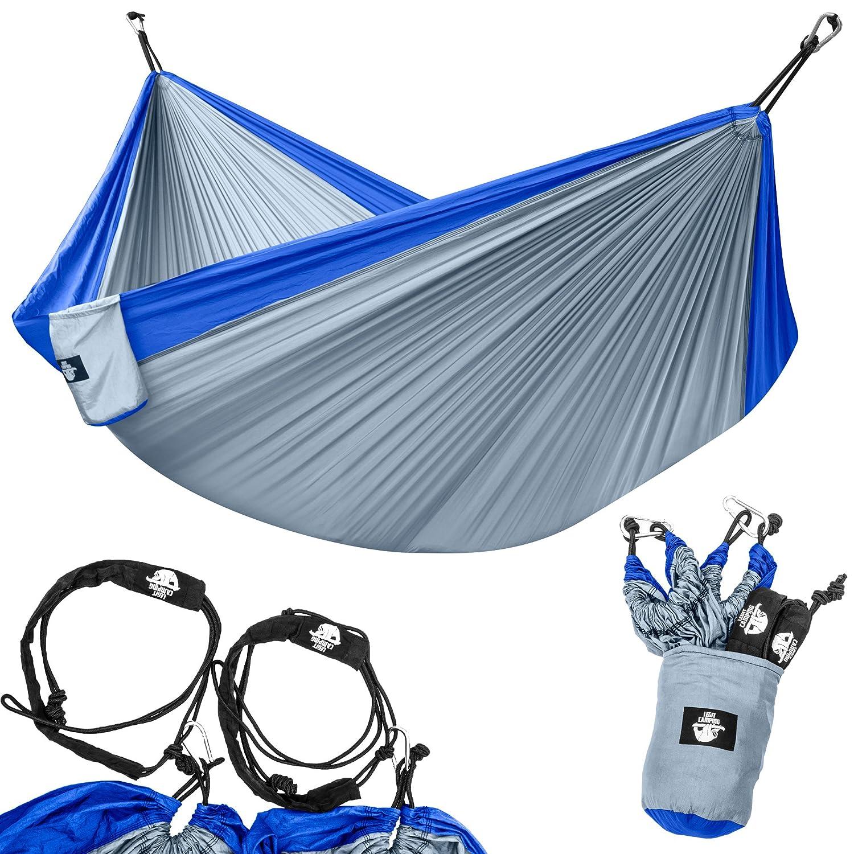 amazon com legit camping double hammock lightweight parachute