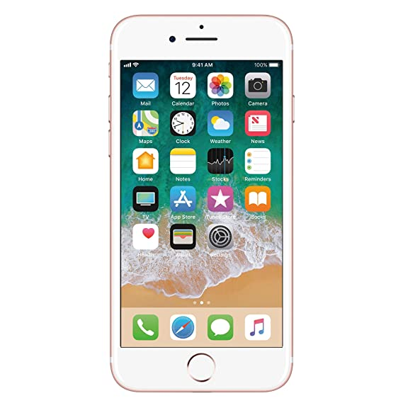 5ccc3bd0e09 Apple iPhone 7 Oro Rosa 128 GB (Renewed): Amazon.com.mx: Electrónicos
