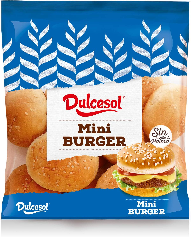 DULESOL 🍔😋 Pan Mini Burguer - 10 unidades 🍔😋
