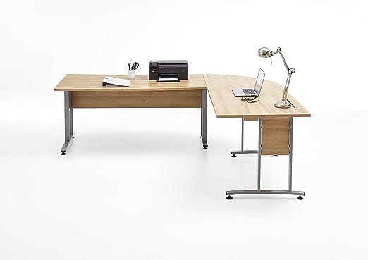 FMD IDIMEX - Mesa de Escritorio (240 x 200 cm, Estructura de Metal ...