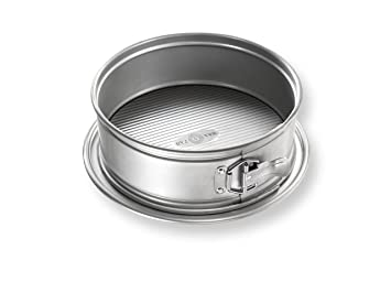 Estados Unidos Pan Bakeware Molde 9 Pulgadas, Antiadherente para Hornear Pastel de Queso para Tartas Fabricado aluminizado, Acero, Metal: Amazon.es: Hogar