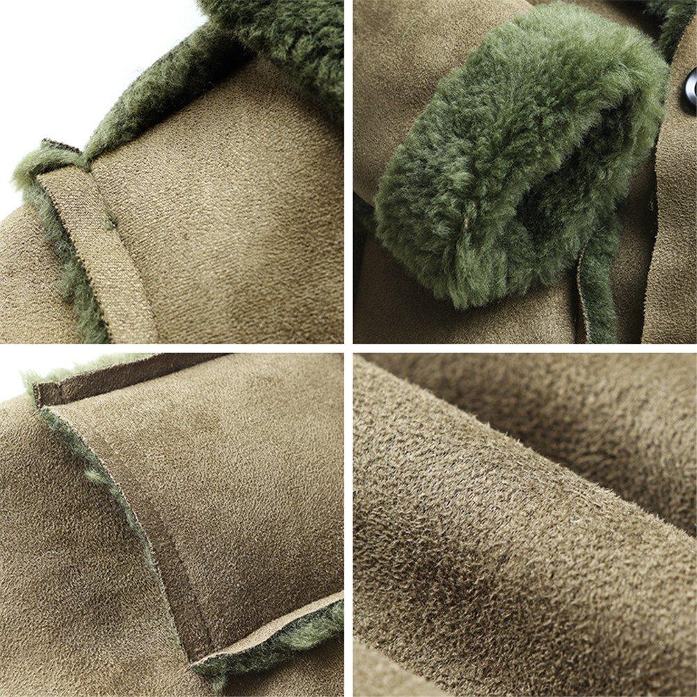 Mud Kingdom Boys Trendy Faux Suede Coat with Warm Fleece Lining