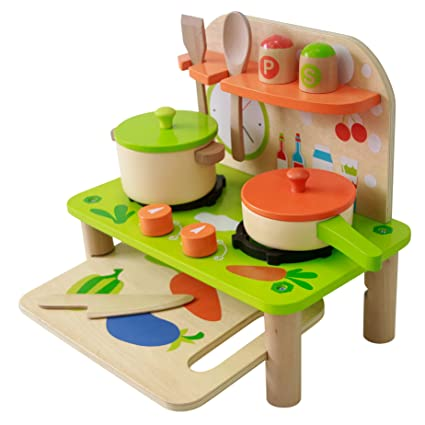 Amazon.com: Bee Smart ??? Kitchen set for kids - Play ...