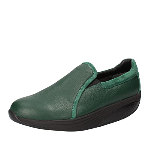 Moccasins Mens 8/8.5 US - 42 EU Leather Suede Green