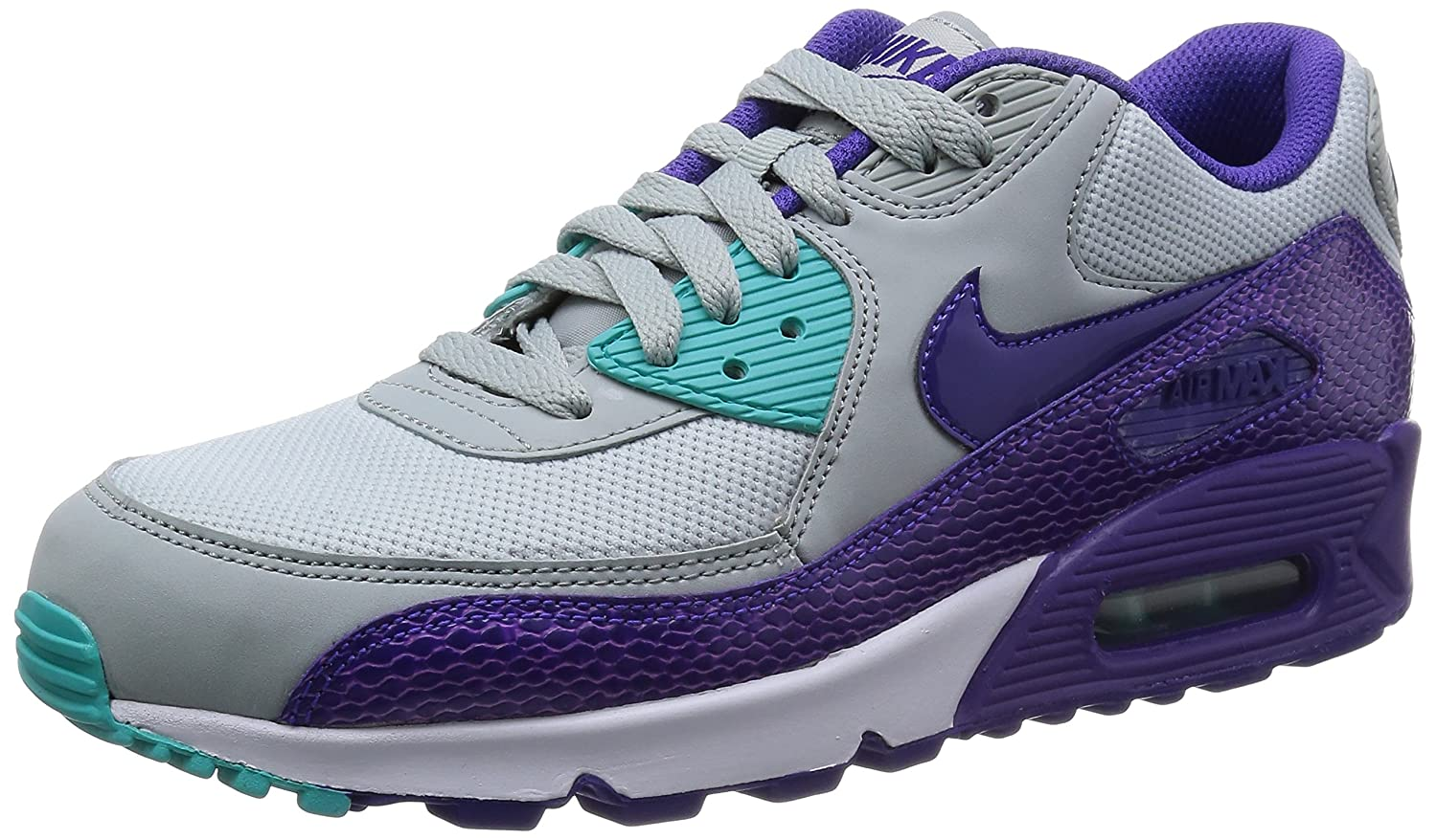 Nike Air Max 90 Womens Running Shoes 325213-036 Silver Wing 7.5 M US