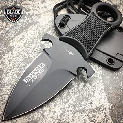 Amazon.com: NUEVO cuchillo de Xtreme Tactical Negro Full ...