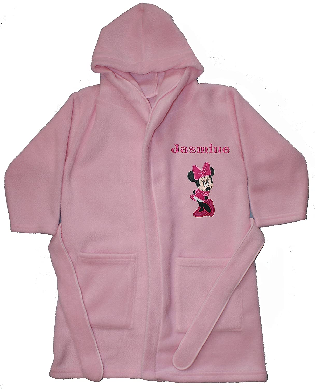 Disney Minnie Mouse Luxury Personalised Super soft Fleece Dressing ...
