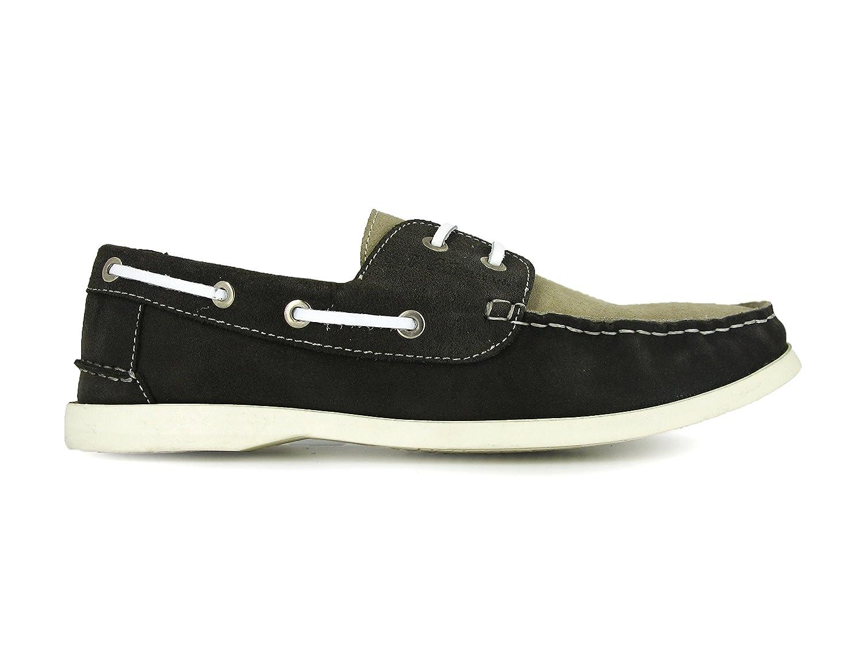 Andrew MacAllister - Zapatos Náuticos Hombre Ante Beige 39 EU