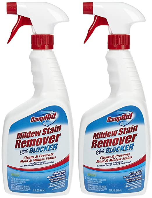 Amazon Damp Rid Mildew Stain Remover plus Blocker 32 oz 2 pk