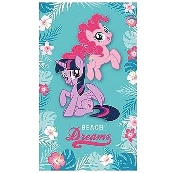 Kids My Little Pony Beach Towel Turquoise