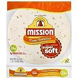 Mission Flour Tortilla Soft Taco 10ct, 17.5oz (2 packages)