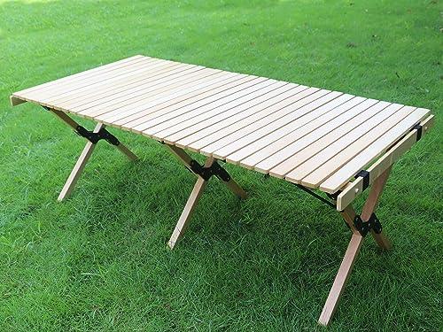 Benewin Camping Folding Wood Table