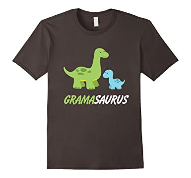 fb505678 Image Unavailable. Image not available for. Color: Mens Grandmasaurus |  Cute And Sweet Grandma Family Dino T-Shirt 2XL Asphalt