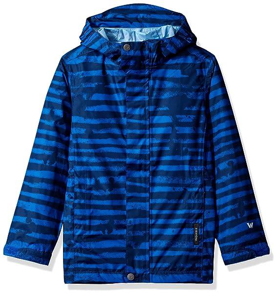 b514cd5b1 White Sierra Youth Trabagon Printed Rain Shell, Imperial Blue, Medium