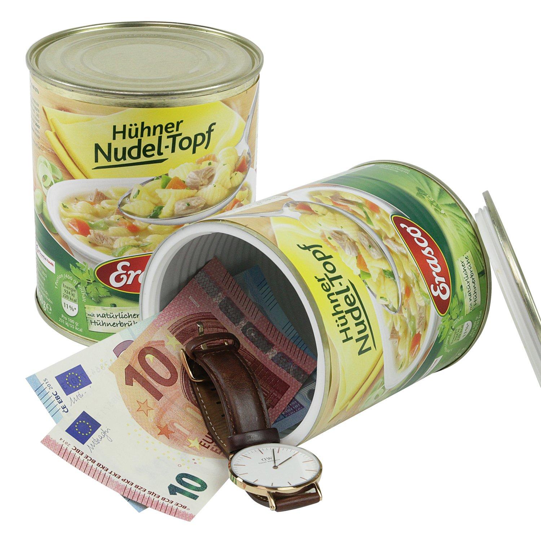 12.0/x 10.0/cm Dosensafe moneta denaro Bonduelle in un verde fagioli
