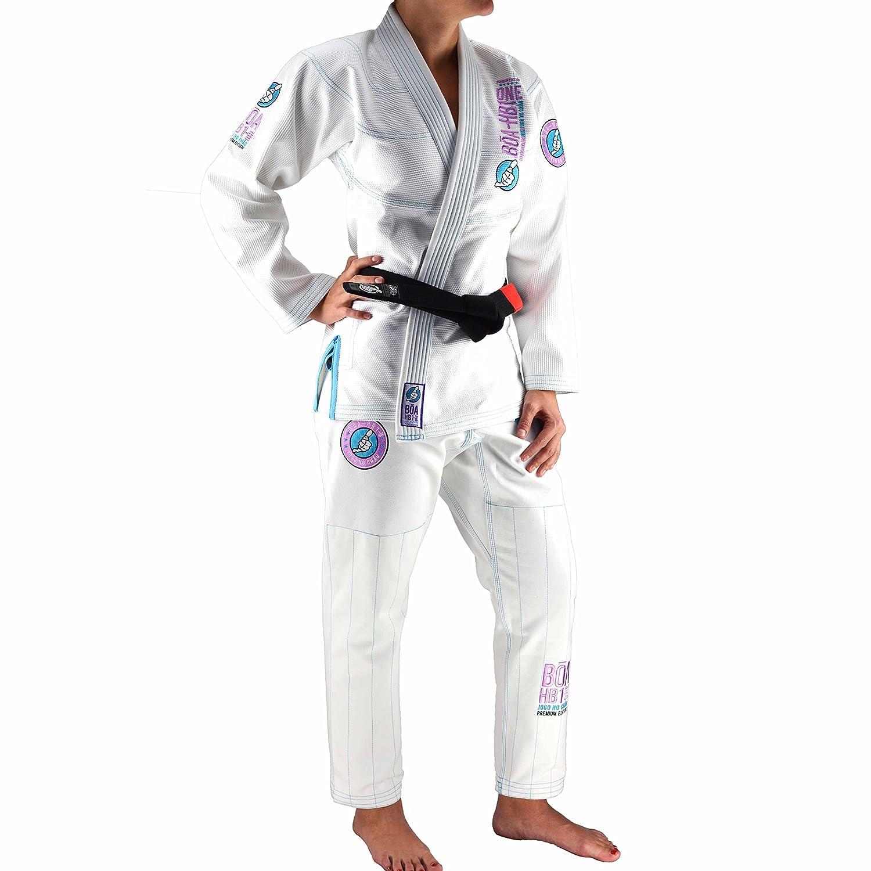 Boa Ladies Kimono HB1 One Bjj Gi F3 white