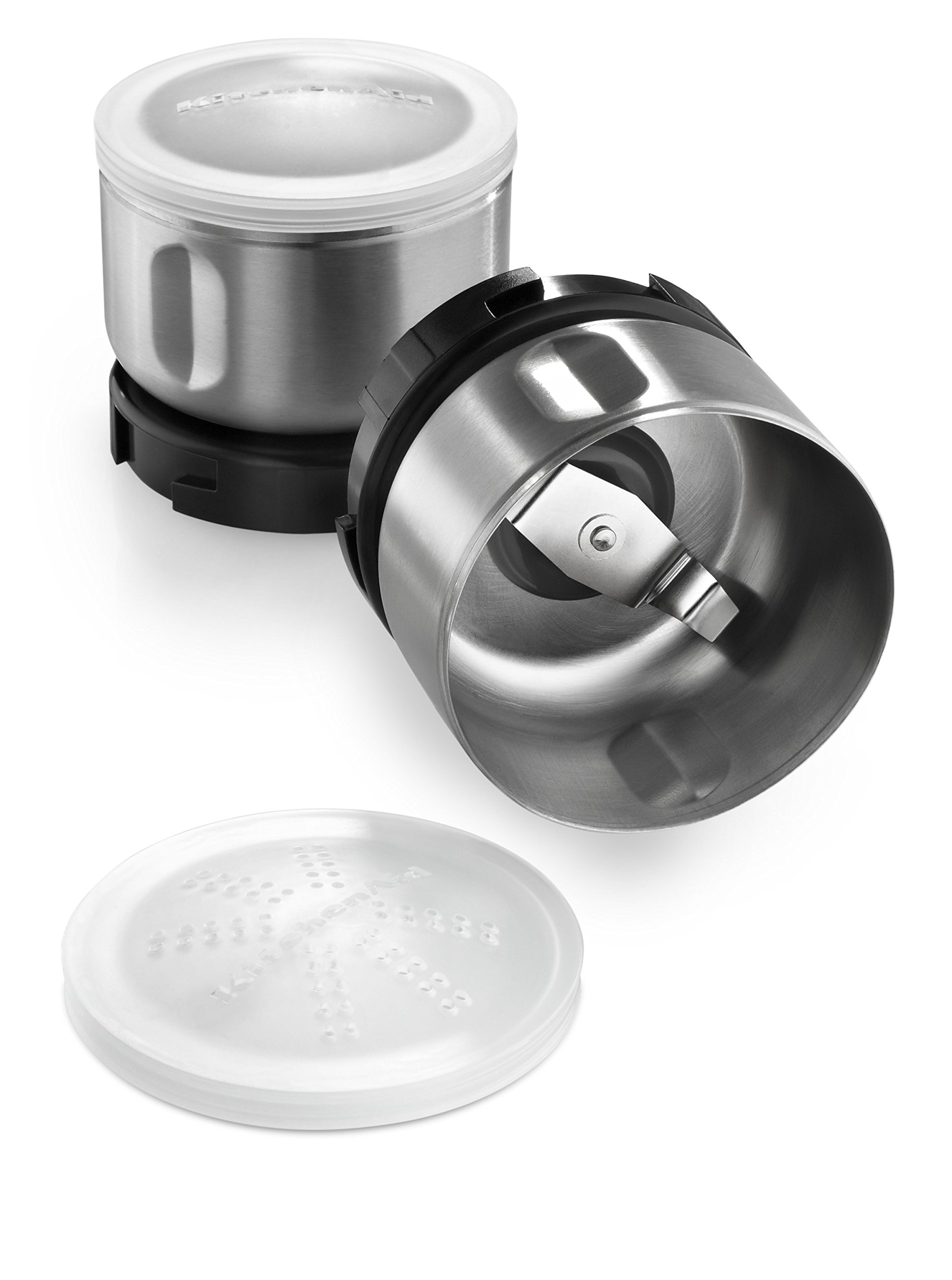 KitchenAid Bcgsga Spice Grinder Accessory Kit, Stainless Steel by KitchenAid