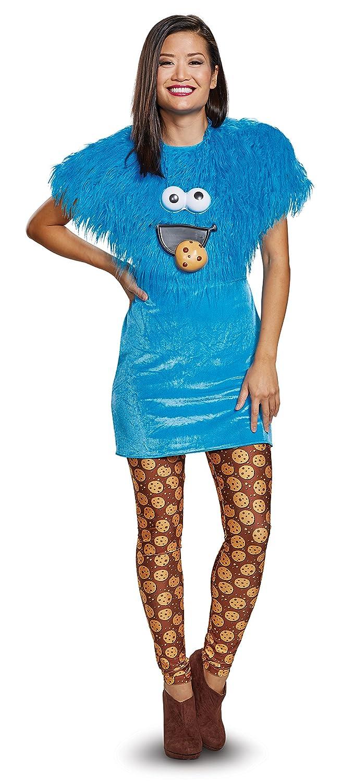 Disfraz de Monstruo de Las Galletas para Mujer - Barrio Sésamo ...