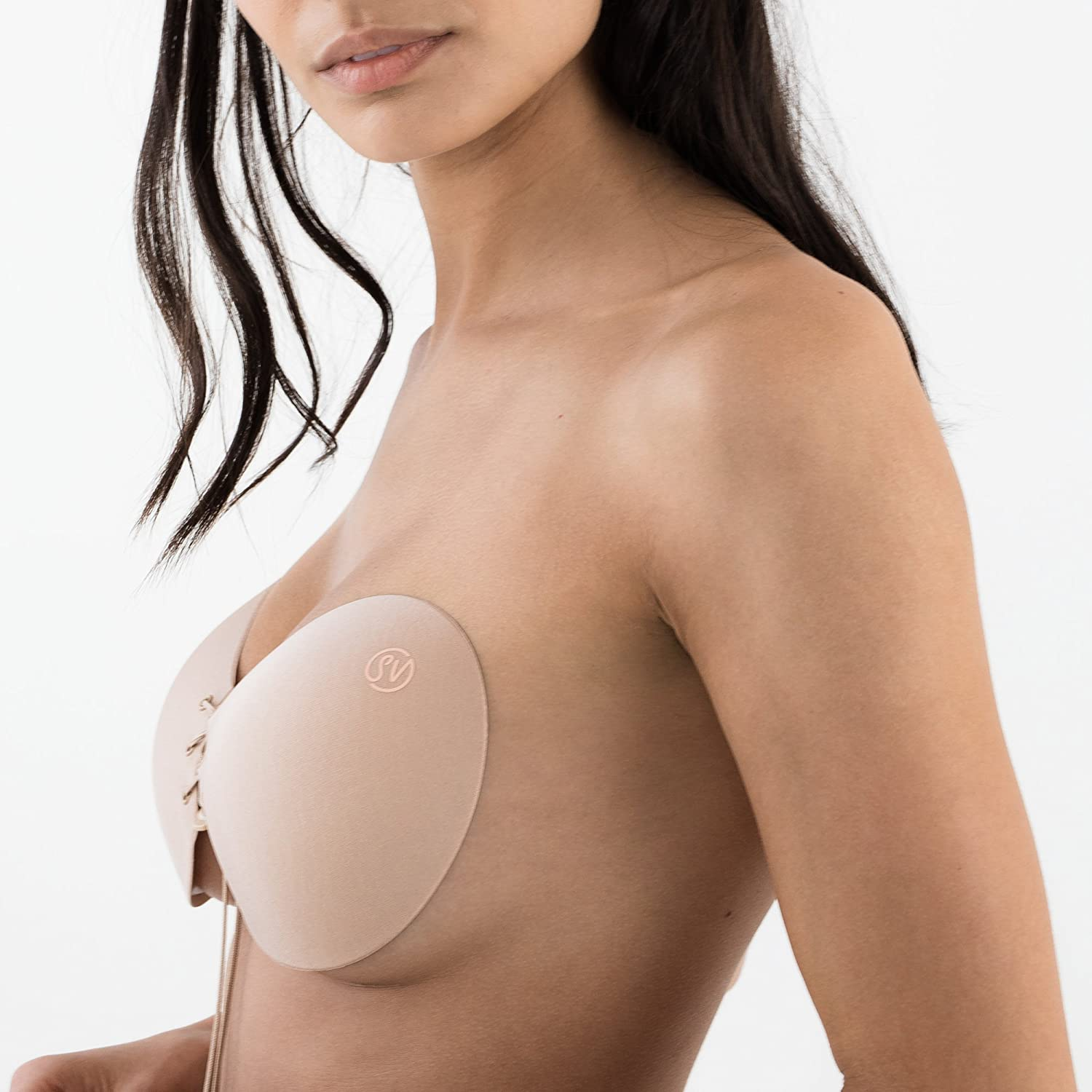 Sneaky Vaunt The Original Stick On Push up Bra Backless Strapless Cleavage