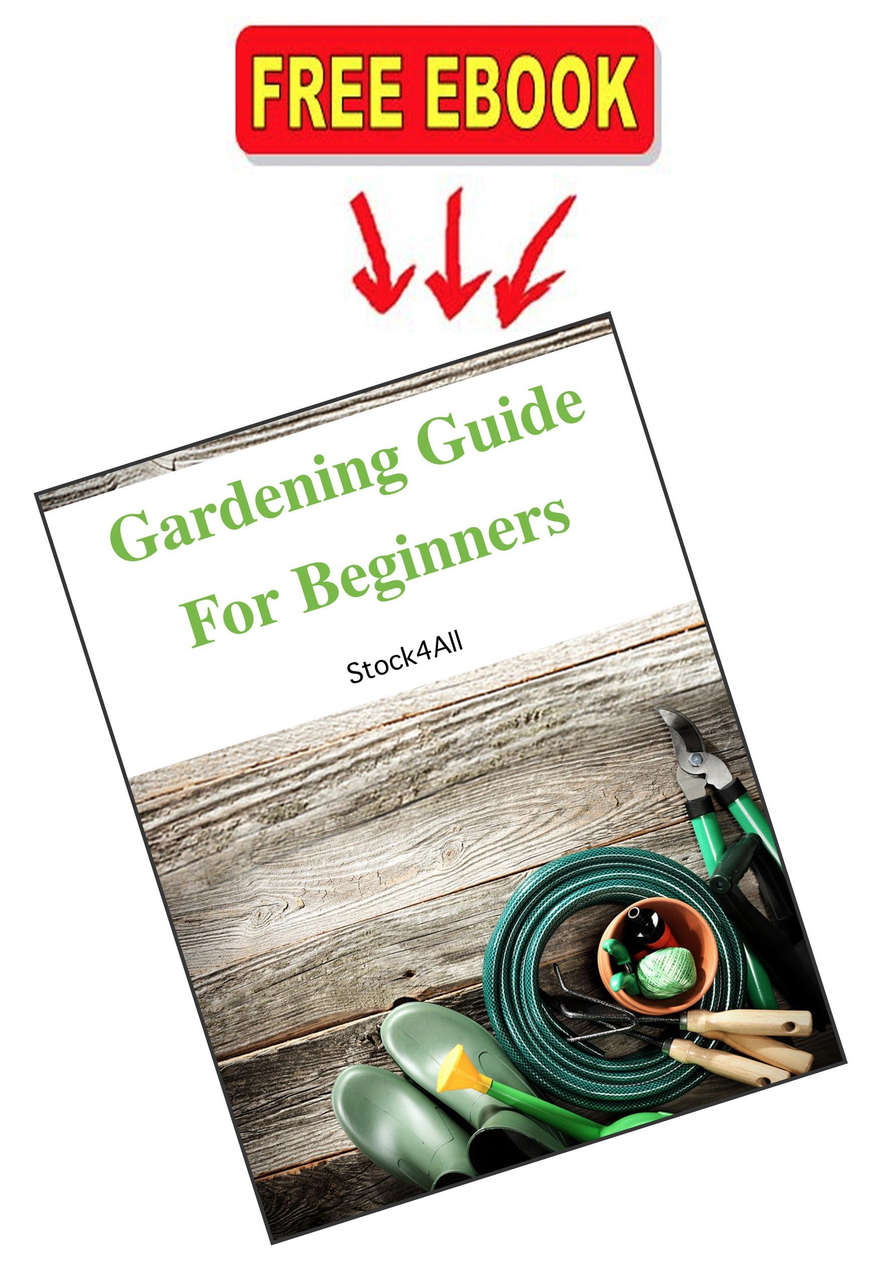 Garden Trowel Multipurpose Tool 14'' Long Premium Super Strong Stainless Steel Metal Gardening Tool & Free Ebook by Stock4All