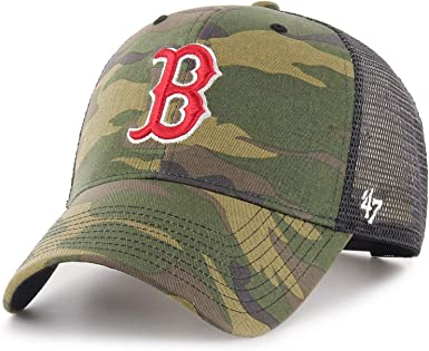 47 Brand MLB Boston Red Sox Camo Branson Gorra: Amazon.es: Ropa y ...