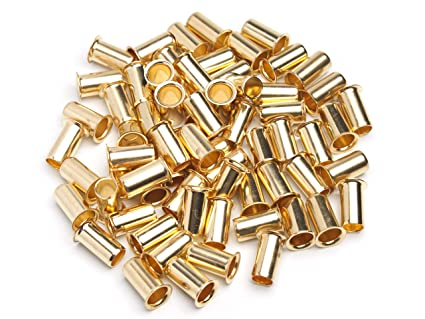 """Lot of 50 New 1//4/"""" Brass Compression Insert,BRASS COMPRESSION FITTING"""