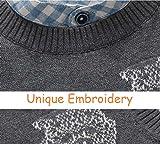 BASADINA Boys Sweater Vest Gray Uniform - Sweater