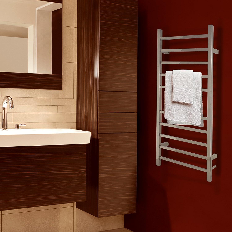 Amazoncom WarmlyYours 10 Bar Metropolitan Towel Warmer Hardwired