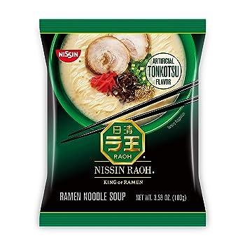 Nissin RAOH Tonkotsu Ramen Noodle Soup