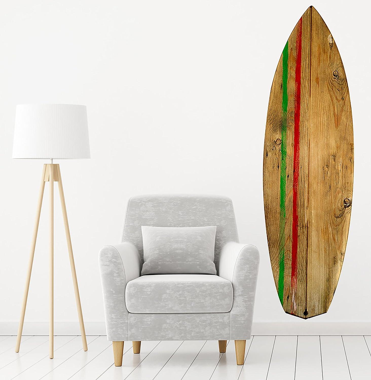 PLAGE Tabla De Surf Long Board Decoración Mural Adhesiva Gigante, Vinilo, 57x0.1x175 cm: Amazon.es: Hogar