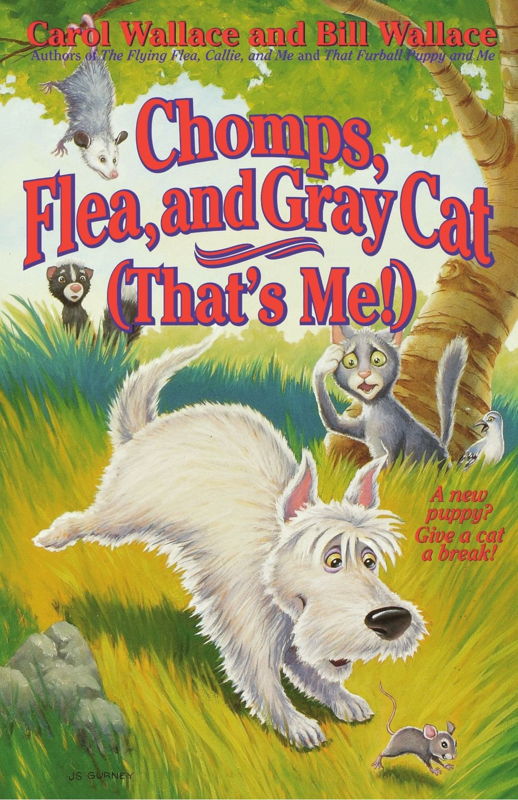 Read Online Chomps, Flea, and Gray Cat (That's Me!) pdf epub