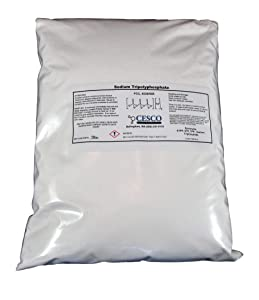 Sodium Tripolyphosphate STPP TPP STP Super Cleans 5 Lb Bulk Pack Tech Grade Light Dense