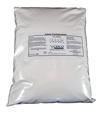 Sodium Tripolyphosphate STPP TPP STP Super Cleans 10 Lb Bulk Pack Tech Grade Light Dense: Amazon.com: Industrial & Scientific