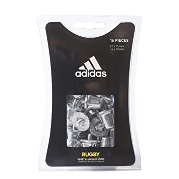 reputable site dd5a2 f0273 adidas Aluminium Rugby Studs - Multicolor, One size